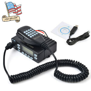 25W-Dual-Band-Mini-Portable-Car-Mobile-Ham-Radio-Transceiver-With-Program-Cable