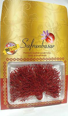 3 gr. Safran-Fäden Dochtarpitsch-Bündel Saffron Super Qualität von Safranbasar