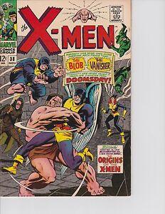 X-Men-38-Origins-of-X-Men-begins-FN-VF-7-0-Nov-1967-Marvel
