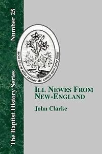 Ill-Newes-From-New-england-Paperback-by-Clarke-John-Brand-New-Free-P-amp-P-in
