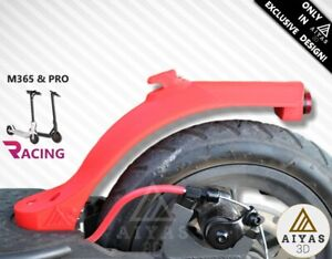 RACING-MUDGUARD-GUARDABARROS-RED-ROJO-Xiaomi-M365-M187-PRO-3D-Printed