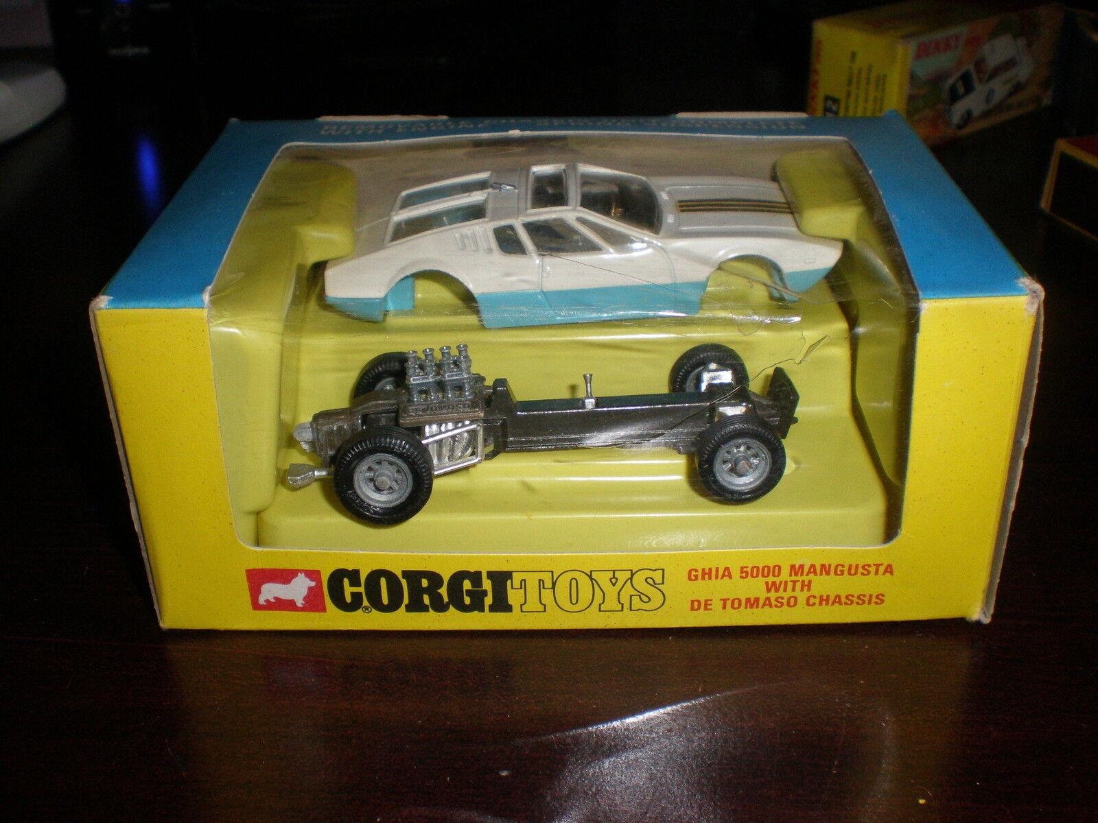 Corgi Toys MANGUSTA WITH BOX BOX BOX ba7b22