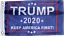 TRUMP 2020 FLAG NAVY OFFICIAL NYLON USA American KEEP AMERICA FIRST 2ply /& 1Ply