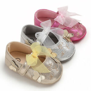 top design usa cheap sale top quality Newborn Baby Girl Crib Shoes Infant Princess Dress Shoes First ...