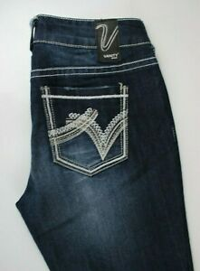 Vanity-Harlow-Slim-Baby-Boot-Jeans-Sz-28-x-33
