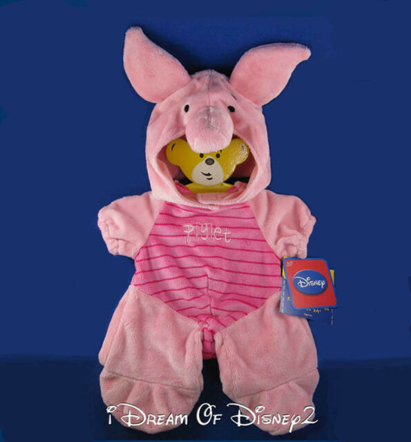 12be4f73e7a NEW Build-A-Bear DISNEY PIGLET COSTUME Winnie Pooh PLUSH PINK Teddy Outfit