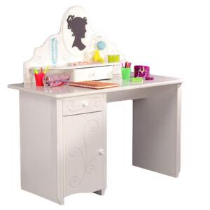 Kinderschreibtisch weiß mit aufsatz  Details zu Schreibtisch Schminktisch + Aufsatz Kinderschreibtisch Mädchen  Kinderzimmer weiß