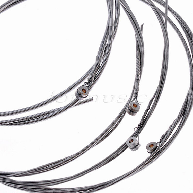 4 Sets 040 095 Nickelplated Steel Strings For Super