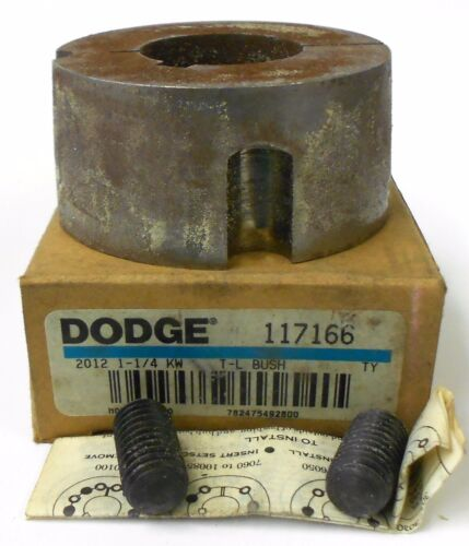 "117166 2 3//4/"" OD 1 1//4/"" BORE SIZE 2012 DODGE BALDOR TAPER LOCK BUSHING"