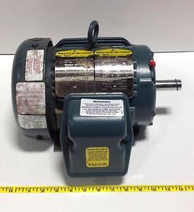 Baldor reliance super e 841xl 1hp 1765rpm electric motor for Baldor reliance super e motor