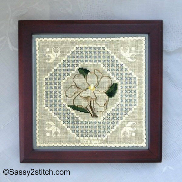 "Sudberry House Trivet 5"" x 5"" w/ Removable Insert - Needlework, X Stitch, Photos"
