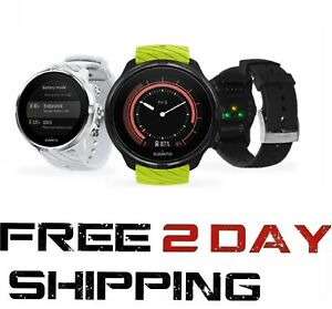 Suunto 9 Multisport GPS Watch w/ Wrist-Based Heart Rate & Multiple Battery Modes