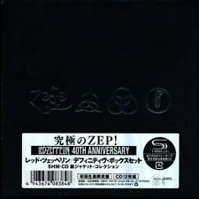 Led Zeppelin:10 SHM CD+Sleeves+Box Japan Mini-LP SS (jimmy page robert plant Q