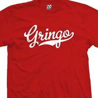 Gringo Baseball T-shirt White Boy All Color 2x 3x 4x 5x