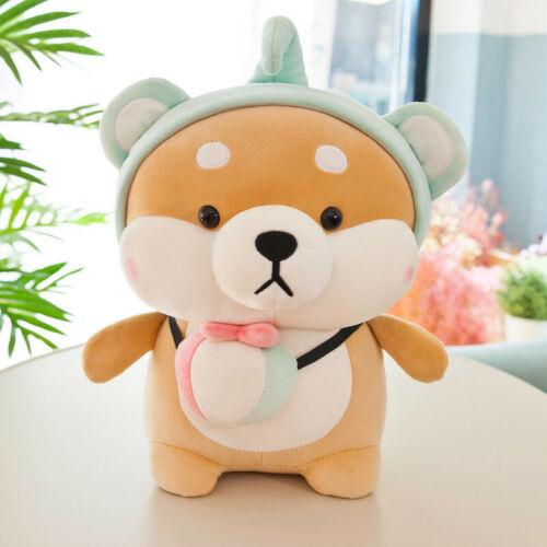 Cartoon Kawaii Shiba Inu Doge Dog Plush Doll Stuffed Toy Pillow Kids Xmas Gift