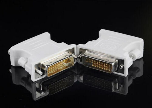 DVI-I male Analog to VGA Female 24+5 15-pin Connector Adapter Free Shipping