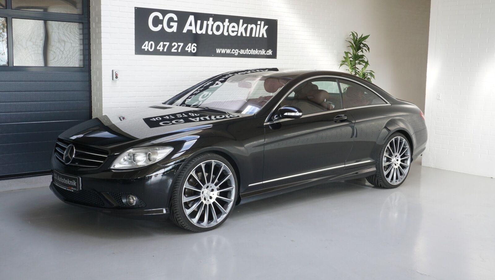 Mercedes CL500 5,5 V8 aut. 2d - 320.000 kr.