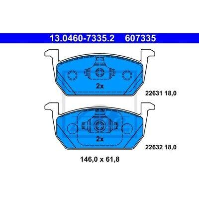 1 Zubehörsatz Scheibenbremsbelag ATE 13.0460-0264.2 passend für