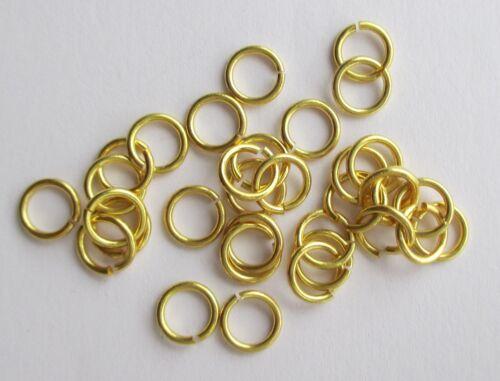 biegeringe, Oros ojales 5 x 0,9 mm abierta 100 anillos conexión anillos