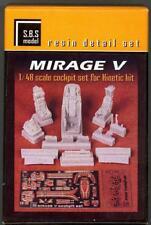 SBS Models 1//48 DASSAULT MIRAGE III DETAIL SET RESIN /& PE CONVERSION KIT