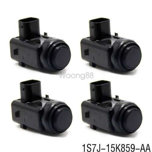 4x 1S7J-15K859-AA PDC Parking Sensor For Ford Focus Fiesta Fusion Mondeo Transit