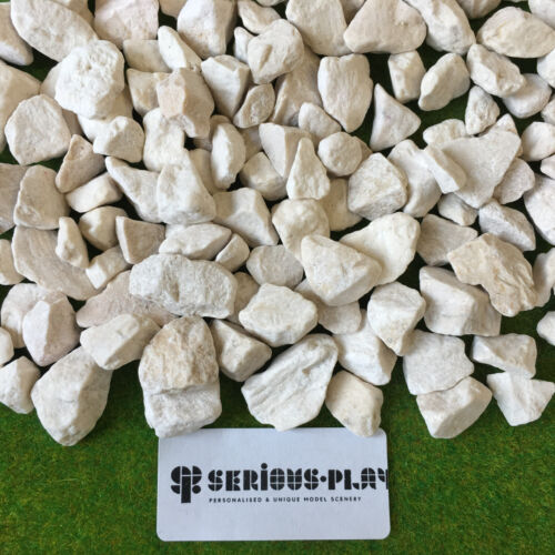Serious-Play White Stones ~ Scenic Scatter Warhammer Basing Scenery