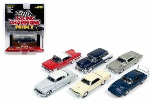 MINT RELEASE 1 SET B SET OF 6 CARS 1 64 DIECAST BY RACING CHAMPIONS RC001 B