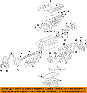 image is loading gm-oem-engine-camshaft-cam-bearing-19260874