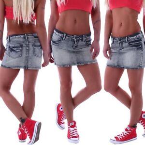 34bafba8eabb Details zu Damen Jeans Minirock Miniröcke Rock Röcke Hüftrock Mini  Jeansrock Sexy Denim B28