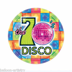 Image is loading 8-Groovy-70-039-s-Disco-Party-7-  sc 1 st  eBay & 8 Groovy 70\u0027s Disco Party 7\
