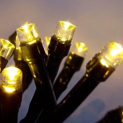 LED Lichterkette 300er warmweiß-grün 30m aussen BA11711