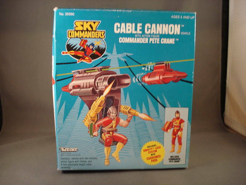 Kenner Sky Commanders Kabel Cannon