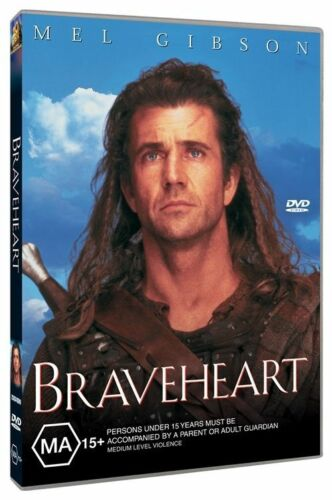 1 of 1 - Braveheart (DVD, 2004) Mel Gibson Region 4 🇦🇺 Brand New Sealed Free Postage