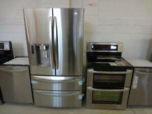 FRIDGE STAINLESS STEEL 30 323336 1 YEAR WARRANTY FREE DELIVERY City of Toronto Toronto (GTA) Preview