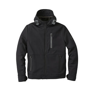 Indian Motorcycle Men's Casual Softshell Jacket, Black