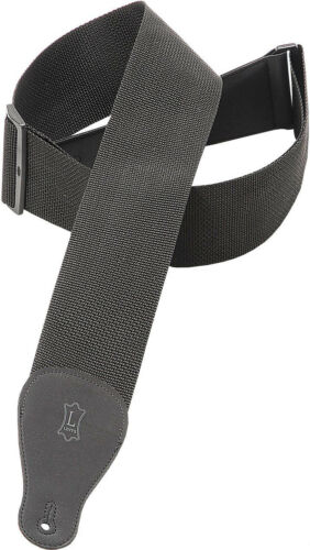 "Levy/'s M8P3-XL-BLK 3/"" Polypropylene Guitar//Bass Strap Extra Long Black"