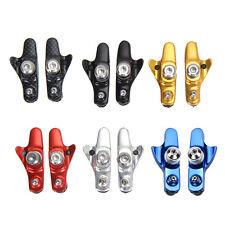 Rubber MTB Mountain Bike Road Bicycle Cycling V Brake Pads Shoes 55mm Blocks