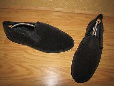 Foamtreads Black Regal Indoor - Outdoor Slippers - Men's 12M Int. 47 EUC
