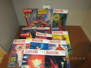 14-IMAGINATION-SCIENCE-FICTION-MAGAZINES-1950-1952-R37