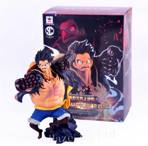 Anime One Piece 4 Luffy PVC Figure Figurine