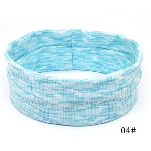 Fashion Headband Yoga Basketball Gym Sport Stretch Hair Band Sweat Quick Drying