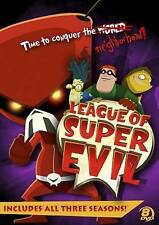 League of Super Evil: TV Complete Series Season 1 2 3 DVD Box Set Collection NEW