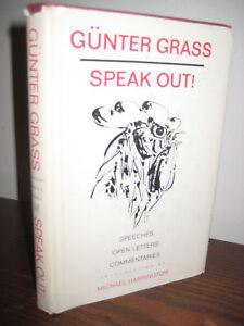 1st-1st-Printing-SPEAK-OUT-Gunter-Grass-SPEECHES-Open-Letters-NOBEL-PRIZE