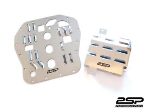 2SP Windage Tray + Oil Pan Baffle Plate Kit Fits: Subaru EJ20, EJ22, EJ25