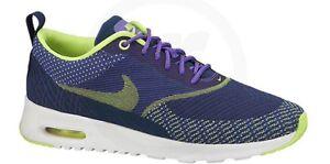 Details about Nike AIR MAX THEA JCRD JACQUARD 844955 300 (OliveBlackBlue) Women's Sz 7 New!