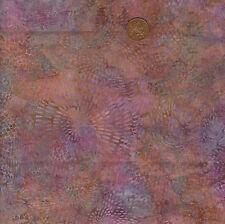 Hoffman 3325 510 Lilac/Green/Pink Batik 100% Cotton Fat Quarter