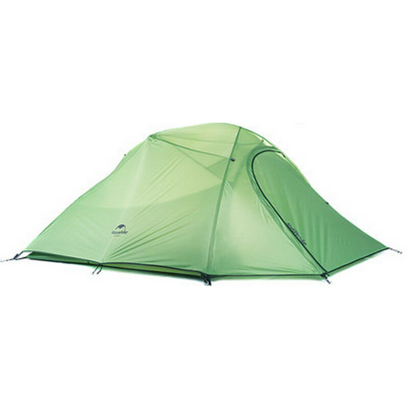 3 Person Rainproof Climbing Hiking Riding Silicone Fabric Double Layers Tent