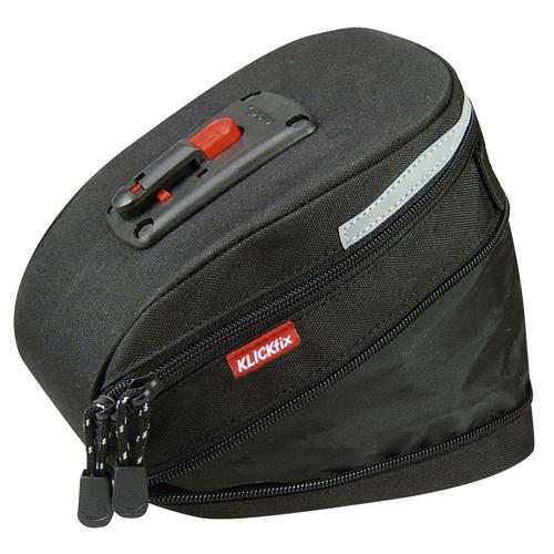 Klickfix Micro 200 expandable Satteltasche Wasserdicht Lampenhalter Fahrrad