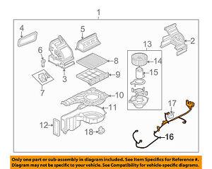 kia oem 07 08 spectra 2 0l l4 heater wire harness 971762f250 ebay rh ebay com