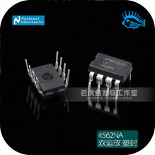 New IC 20PCS National Semiconductor LM4562NA LM4562 4562 Dual OpAmp DIP-8